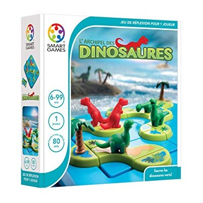 L' ARCHIPEL DES DINOSAURES - SMART GAMES