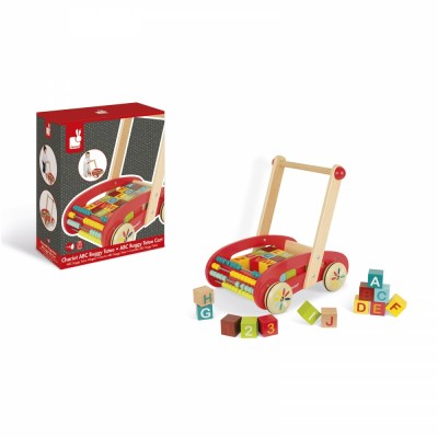 CHARIOT ABC BUGGY TATOO - 30 CUBES - JANOD