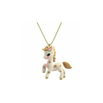 COLLIER LOVELY CHARMS PONEY - DJECO
