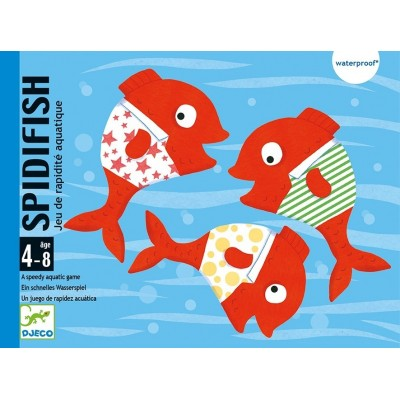 JEU DE CARTES SPIDIFISH - DJECO