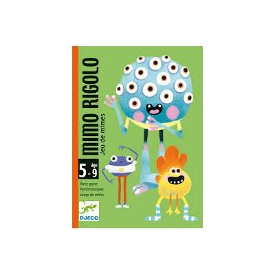 JEU DE CARTES MIMO RIGOLO- DJECO