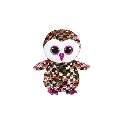 FLIPPABLES SMALL - CHECKS LE HIBOU - TY