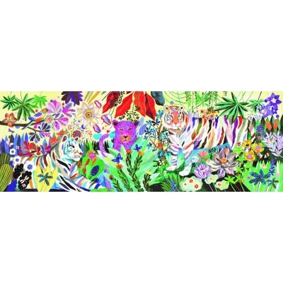 PUZZLE GALLERY RAINBOW TIGERS - 1000 PCS- DJECO