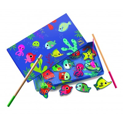 PECHE MAGNETIQUE - FISHING COLOUR - DJECO