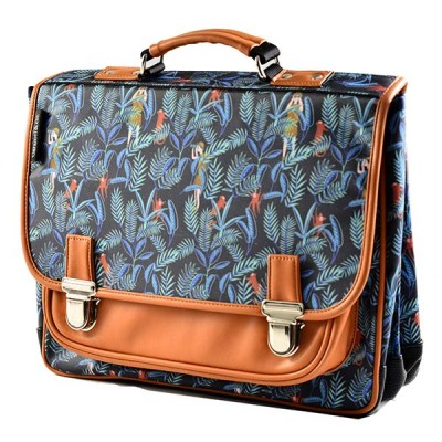 CARTABLE LARGE JUNGLE - CARAMEL ET CIE