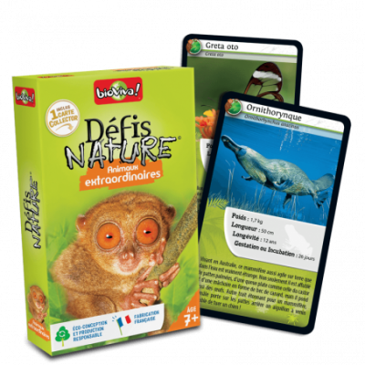 DEFIS NATURE - ANIMAUX EXTRAORDINAIRES - BIOVIVA