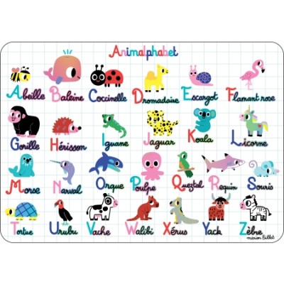 SET ANIMALPHABET - CARTES D'ART