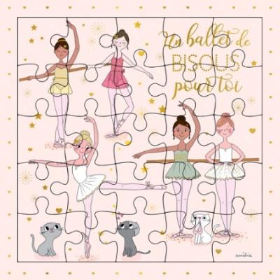 CARTE PUZZLE BALLET - CARTES D'ART