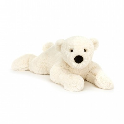 PERRY OURS POLAIRE ALLONGE  - JELLYCAT