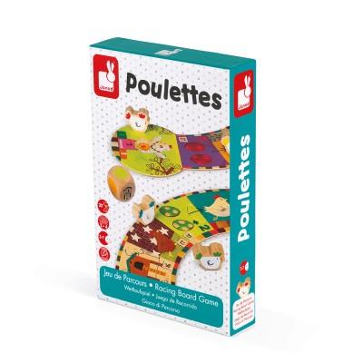 JEU DE PARCOURS - JEU DES POULETTES- JANOD