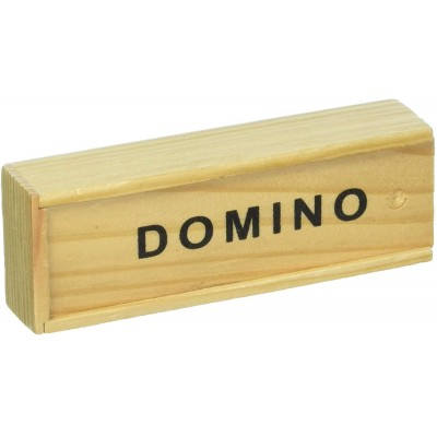 JEU DE DOMINOS BOITE EN BOIS