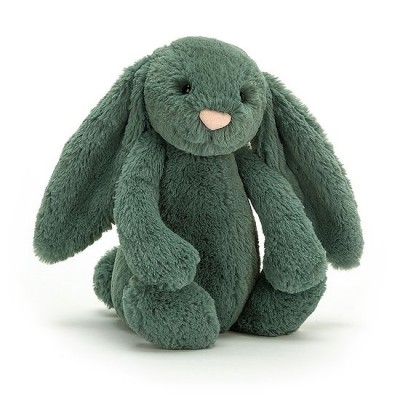 BASHFUL LAPIN VERT FOREST MEDIUM 31 CM - JELLYCAT