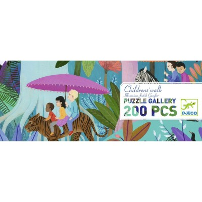 PUZZLE GALLERY -CHILDREN'S WALK - 200 PCS- DJECO