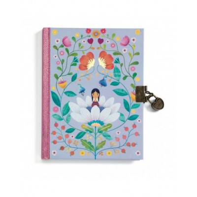 CARNET SECRET MARIE - JOURNAL INTIME - DJECO