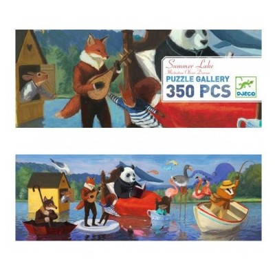 PUZZLE GALLERY SUMMER LAKE - 350 PCS -DJECO