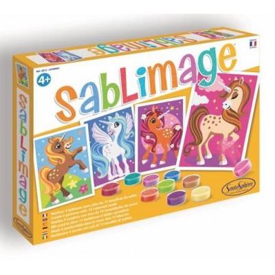 SABLIMAGE LICORNES - SENTOSPHERE