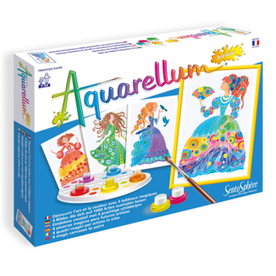AQUARELLUM JUNIOR PRINCESSES FLEURS - SENTOSPHERE