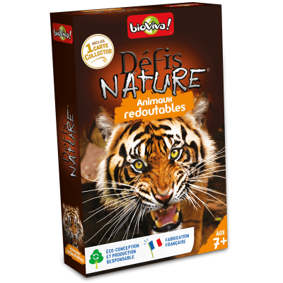 DEFIS NATURE - ANIMAUX REDOUTABLES - BIOVIVA