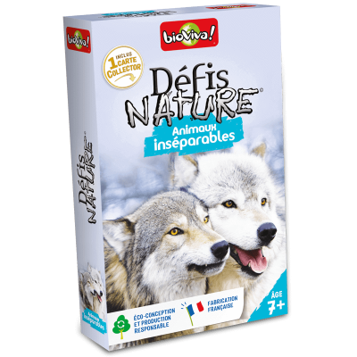 DEFIS NATURE - ANIMAUX INSEPARABLES - BIOVIVA