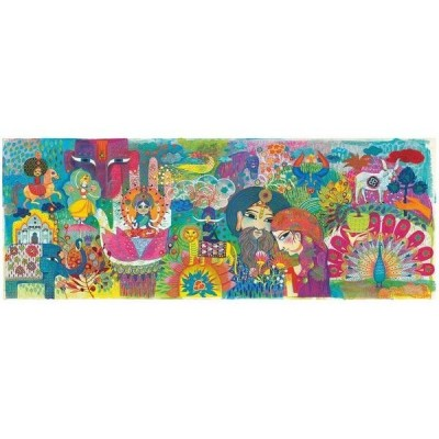 PUZZLE GALLERY MAGIC INDIA - 1000 PCS- DJECO