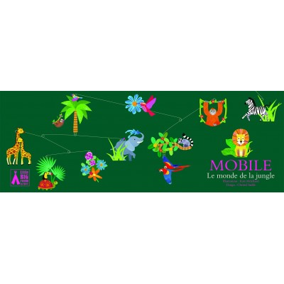 MOBILES POLYPRO - JUNGLE- DJECO