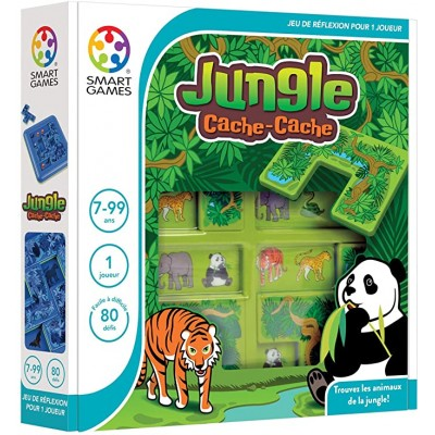 CACHE CACHE JUNGLE - SMART GAMES