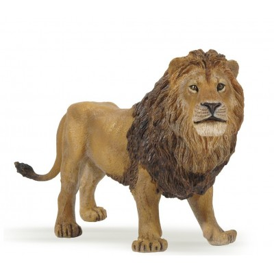 FIGURINE LION  - PAPO