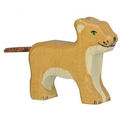 LION, PETIT, DEBOUT - HOLZTIGER