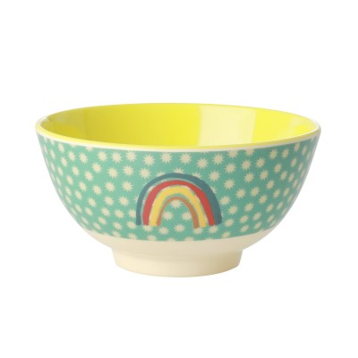 BOL MELAMINE MEDIUM - ARC EN CIEL - RICE