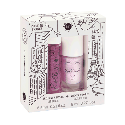 COFFRET ROLLETTE MURE ET  VERNIS ELLIOT - NAILMATIC