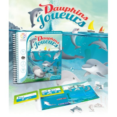 SMART MAGNETIQUE TRAVEL - DAUPHIN - SMART GAMES