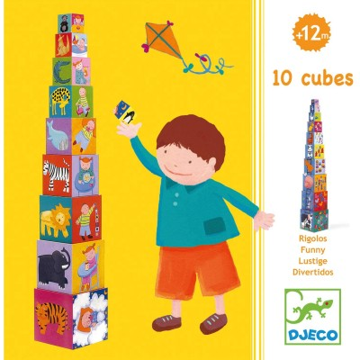 10 CUBES RIGOLOS - DJECO