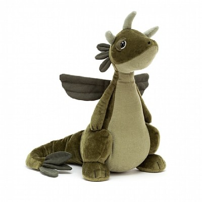 DRAGON OLIVE - JELLYCAT