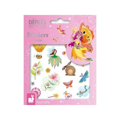 DEFILES DE MODE STICKERS FAIRIES - JANOD