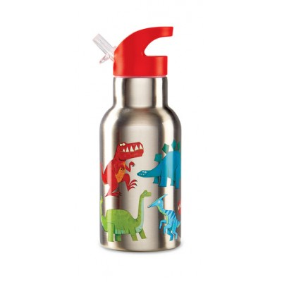 GOURDE INOXYDABLE DINO 450ML - CROCODILE CREEK