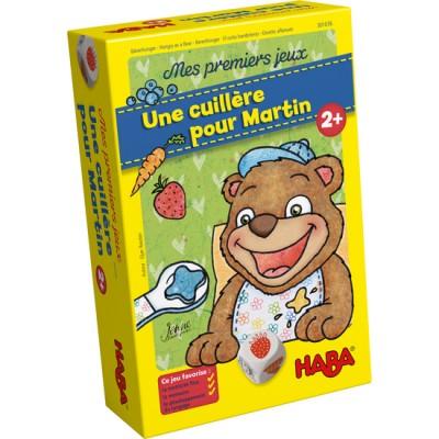 MON PREMIER JEU - UNE CUILLERE POUR MARTIN - HABA