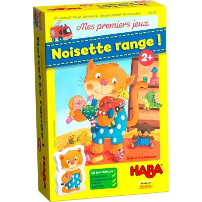 MES PREMIER JEUX NOISETTE RANGE-HABA
