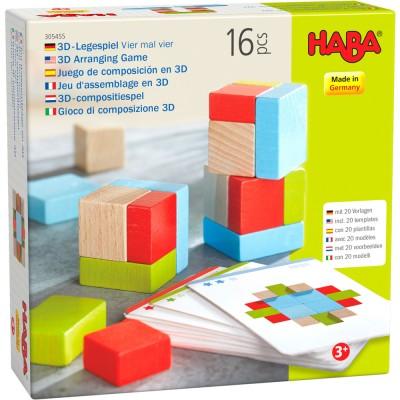 JEU ASSEMBLAGE 3D 4 FOIS 4-HABA