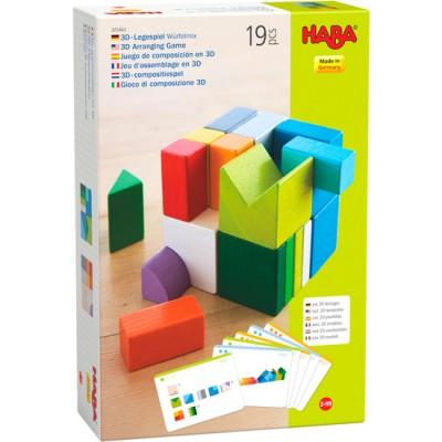 JEU D ASSEMBLAGE 3D CUBES MIX-HABA