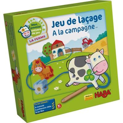 JEU DE LACAGE A LA CAMPAGNE FR2-HABA