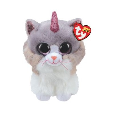 BEANIE BOO'S SMALL - ASHER LE CHAT LICORNE - TY