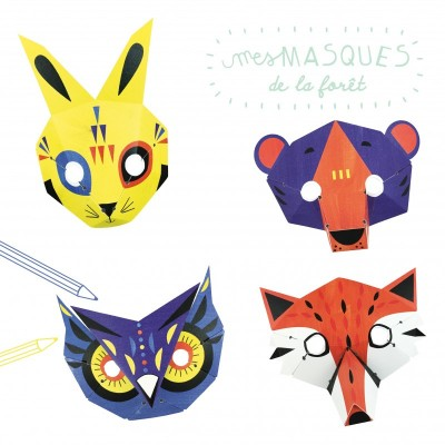 MASQUES FORET - PIROUETTE CACAHOUETE