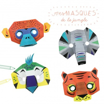 MASQUES JUNGLE - PIROUETTE CACAHOUETE