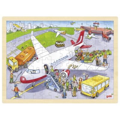 PUZZLE AEROPORT 96 PCS - GOKI