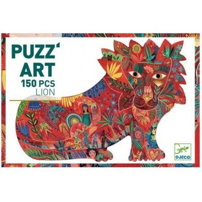 PUZZ'ART - LION - 150 PCS - DJECO
