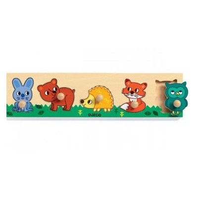 MINI PUZZLE FOREST'N'CO - DJECO