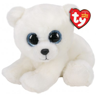 BEANIE BABIES SMALL - ARI L'OURS POLAIRE - TY
