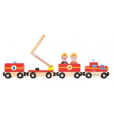 TRAIN POMPIERS STORY - JANOD