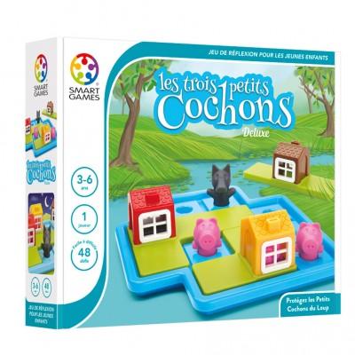 LES TROIS PETITS COCHONS- SMART GAMES