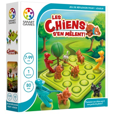 LES CHIENS S'EN MELENT - SMART GAMES